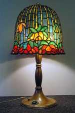 Tiffany lampe lotus B